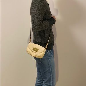 Gently used Marc Jacobs leather crossbody bag